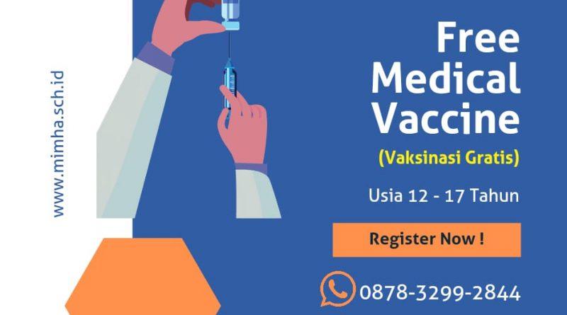 Vaksinasi Untuk Siswa, Vaksin Gratis di Bandung Hari Ini terbaru